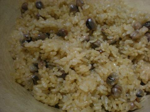 大豆玄米ご飯