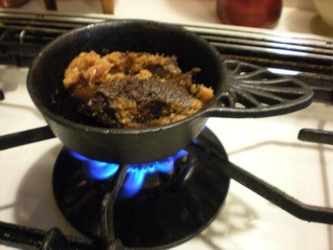 焼き味噌を作る