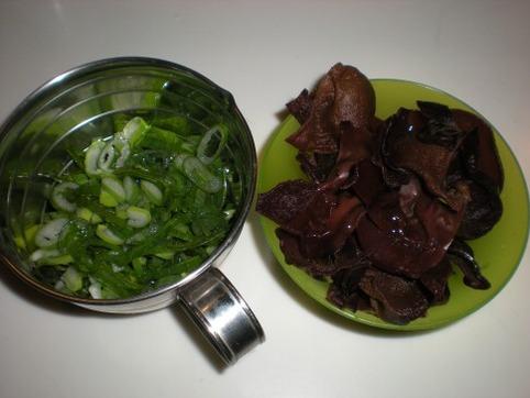 葱&キクラゲ