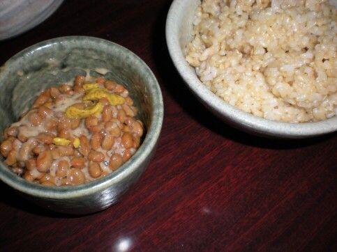 納豆&ご飯