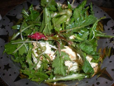 水菜のサラダ3