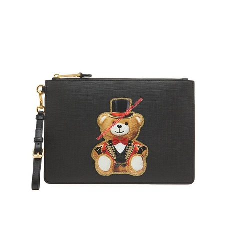moschino-circusteddy-clutch-black-1