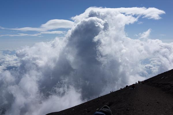 【山と温泉】 富士登山記(吉田ルート)