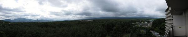 富士山眺望2011