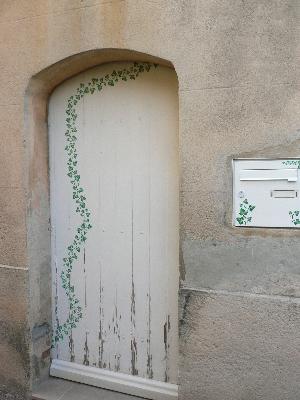 小洒落たドア