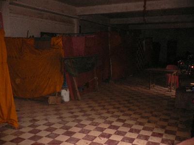 室内テント街