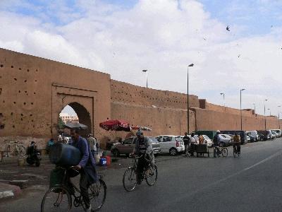 マラケシュの壁