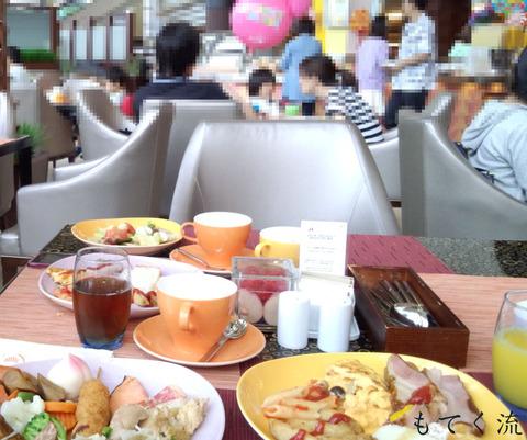 グランカフェ朝食