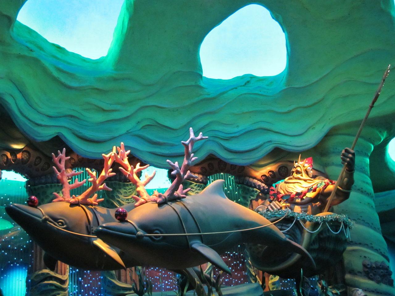 東京ディズニーシー ぶらりクリスマス マーメイドラグーン も