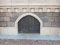 シンデレラ城スロープ下扉