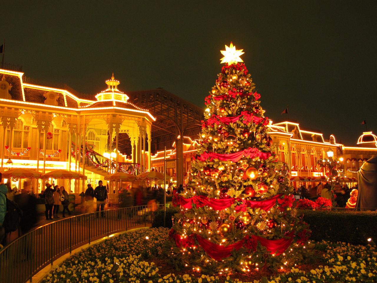東京ディズニーランド ぶらりクリスマス 夜のワールドバザール