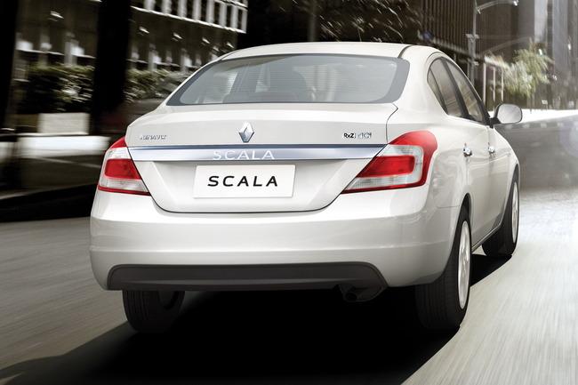 """Renault-Scala-6 【最新車情報】ルノー、インド向けコンパクトセダン""""スカ"""