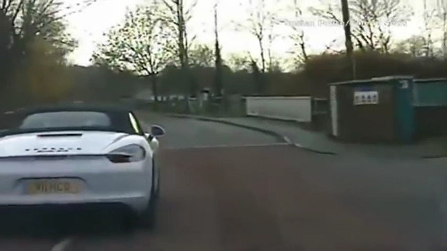 ハプニング映像!!:盗難車の ...