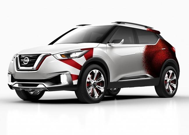 Nissan-Kicks-Samba-concept-front-quarter
