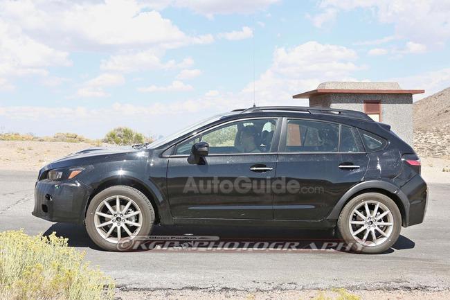 2018 Subaru Xv Crosstrek Mule Spy Photos 14 | 2017 - 2018 Best Cars ...