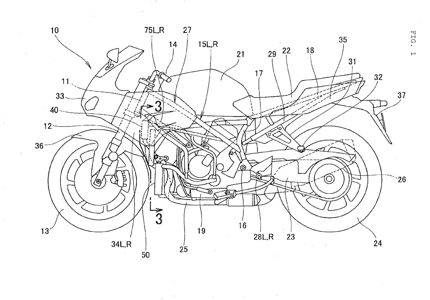 ホンダ Vf800 ホンダの新型スポーツバイクの姿が特許図面から明らかに Moter Sounds