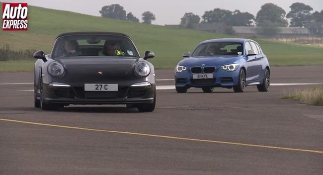 20141109160818 英国の自動車専門誌Auto Expressは、ドラッグレース企画「