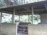 鳴滝の休憩所。