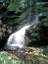 八多五滝、最後の滝(その3)。