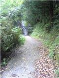 閑定の滝(その1)。