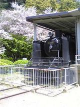 静態されている蒸気機関車(その2)。