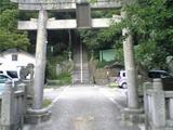 新羅神社(鳥居)。
