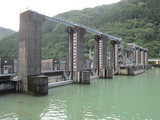 川口ダム(その1)。