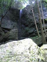 八多五滝、最後の滝(その1)。
