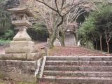 西麻植八幡神社(その1)。