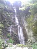閑定の滝(その2)。