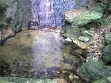 鳴滝の滝壺。