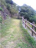 由岐城址公園(その1)。