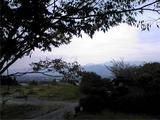 土柱休養村温泉前から見る風景。