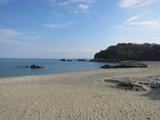 小神子海岸(その1)。