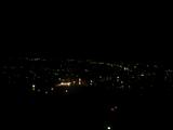 妙見山の夜景。