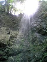 八多五滝、最後の滝(その2)。