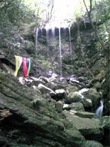 八多五滝の某滝。。