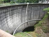 上勝町(?)の某ダム(その1)。