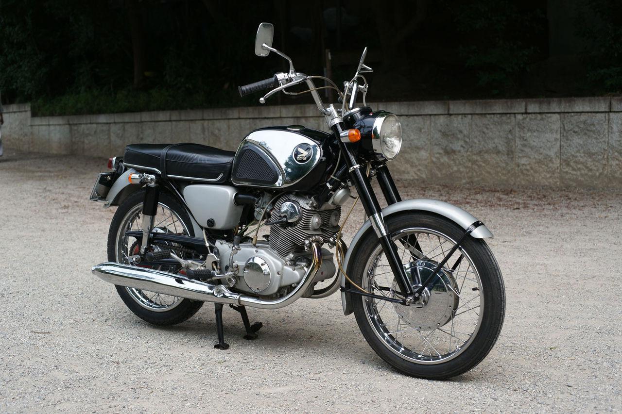 ホンダ CP77 type2 1964年式 : クラコレバイク