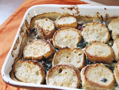 bread gratin