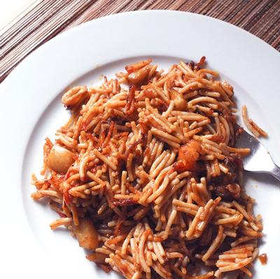 pasta paella
