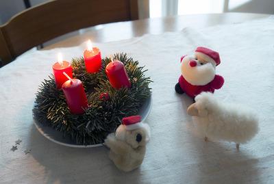 xmas candles blog