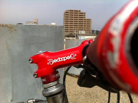 自転車の marin 自転車 評価 : DEDA ZERO1 STEM : 六甲魂機材編