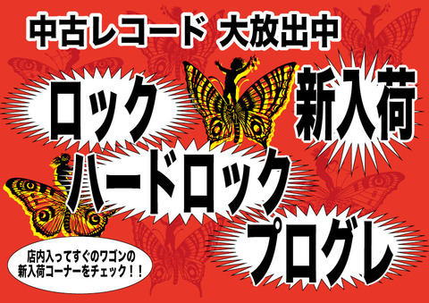 新入荷 ロック/ハードロック/プログレ-レコード 大放出中A4
