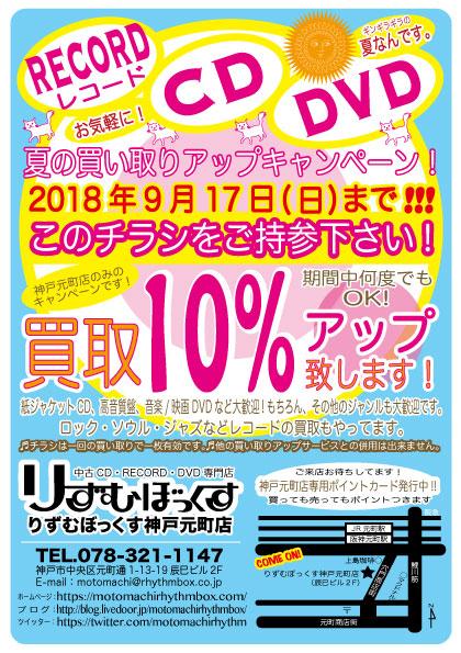 神戸元町店買取チラシ2018.7
