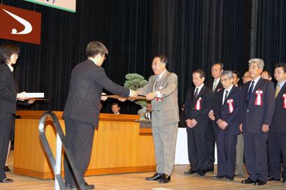秋田の名工表彰式