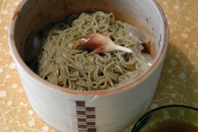 ギバサ麺入りおひつ
