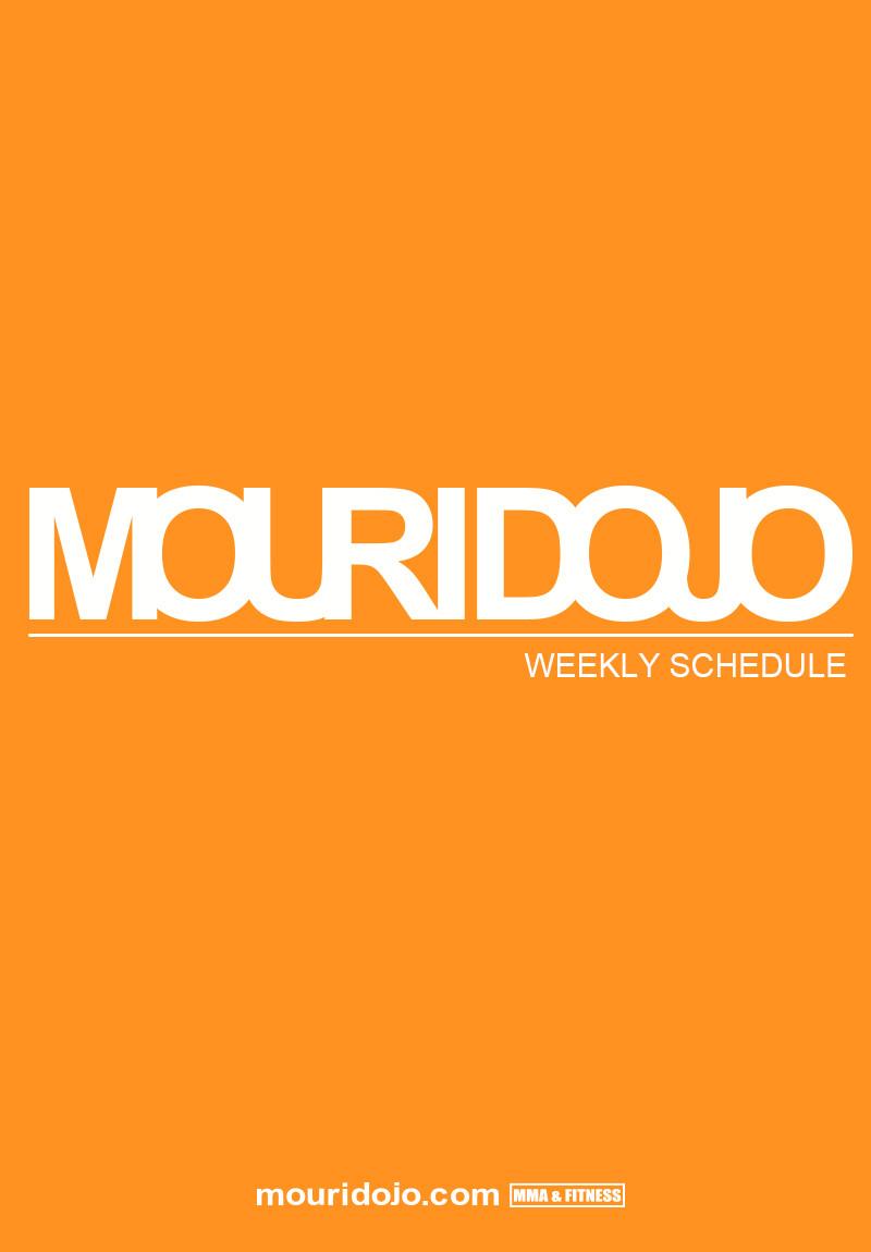 mouridojo official blog weekly schedule 9 24 9 30