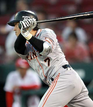 長野久義 .307 13本 56打点 20盗塁