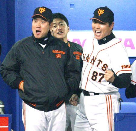 尾花、巨人2軍投手コーチに出戻り